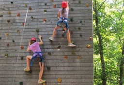 Climbing Walls and Zip Line