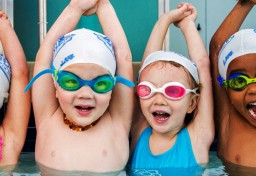 LKSA four kids in goggles