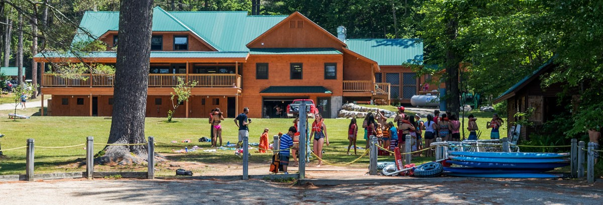 Camp Kingswood dining hall